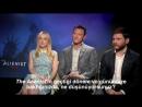 Netflix - The Alienist Röportajı - Dakota Fanning  Luke Evans  Daniel Brühl