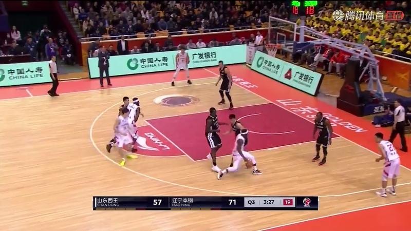 2018年12月25日 CBA常规赛 山东 VS 辽宁 直播