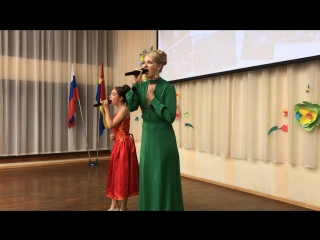 Васильева Василиса и мама Ирина 🎼