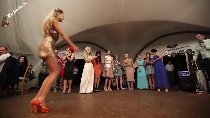 Каблучками тук-тук-тук _ Артур Текеев. Танцы девушек на свадьбе