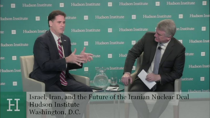 Israel, Iran, and the Future of the Iranian Nuclear Deal: A Conversation with Ron Dermer