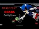PLAYING OSU IN FULL DARKNESS! 6 - MANDOPONY - CHARA [HARD ROCK FLASHLIGHT]