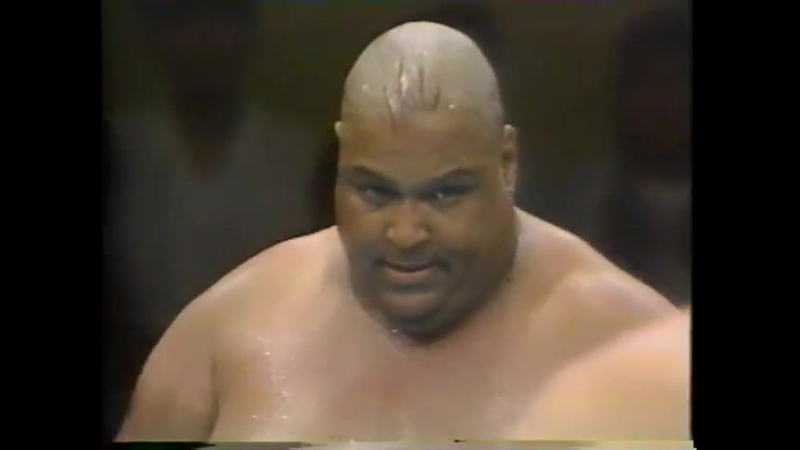 1991.08.17 - Abdullah The Butcher/Giant Kimala 1/Giant Kimala 2 vs. Giant Baba/Akira Taue/Mighty Inoue [FINISH]