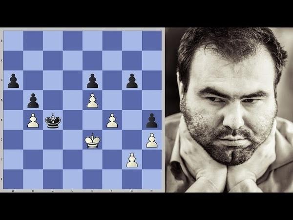 Шахматы. Шахрияр Мамедьяров. Напряжённое ПЕШЕЧНОЕ ОКОНЧАНИЕ!
