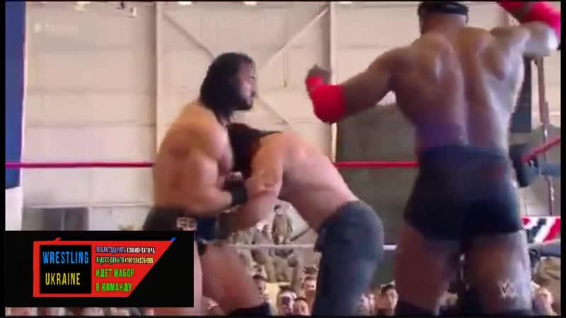 [Wrestling Ukraine]Highlights]WWE Tribute to the Troops 20 December 2018 HD]Огляд Українською]