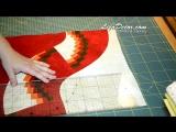 Bargello - Patchwork Wedge Ruler Tutorial LizaDecor.com