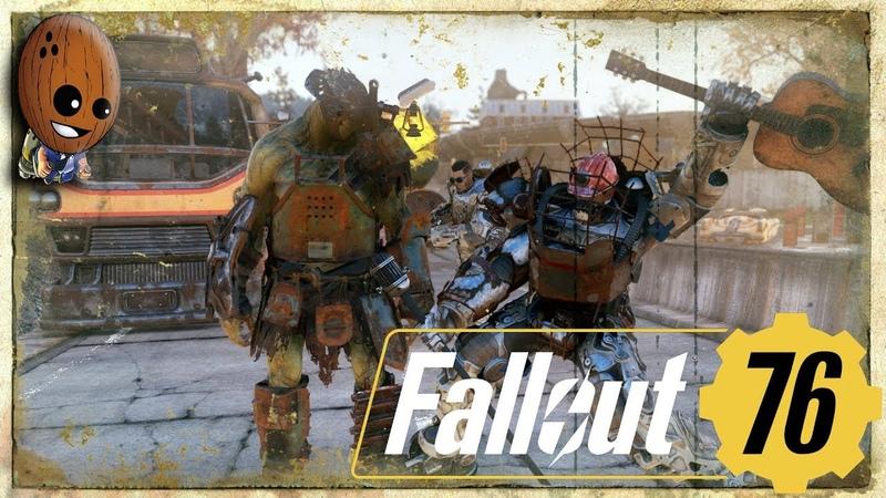 Fallout 76 - Прохождение 13➤Мирный супермутант Грэм. Графтон, убираем протестующих.