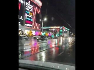 Вечерний Курск в дождь