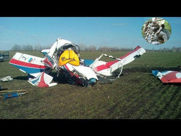 Два опытных пилота погибли в результате падения легкомоторного самолета под Липецком.
