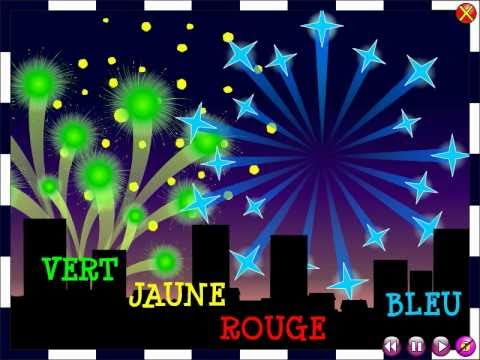 Les feux d'artifice The fireworks Comptine Nursery rhyme