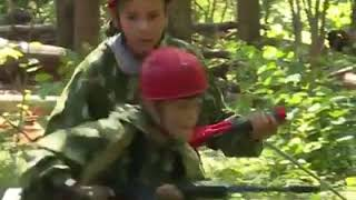 Kids train to become the next Rambo at military summer camp