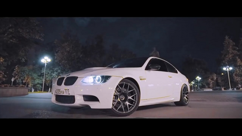 BM™♕ - BMW M3 E92. Night drive