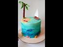 На день рождения любителю моря и пляжа