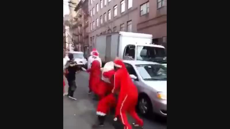 Разборка Санта Клаусов.