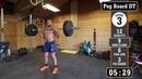 Jacob Heppner Full Crossfit Workout Pegboard Heavy DT Source Josh Bridges