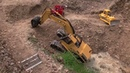 CONSTRUCTION l RC CAT 375 IN DANGER l RC EXGAVATOR l RC DIGGER l RC MINE l raupe