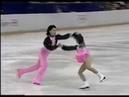 Олимпийские игры 1988 Фигурное катание пары Zhibin MEI Wei LI короткая программа