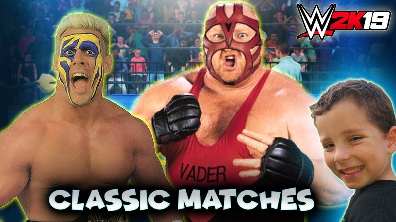 (WWE 2K19 Classic Matches) - WCW - Sting vs Vader