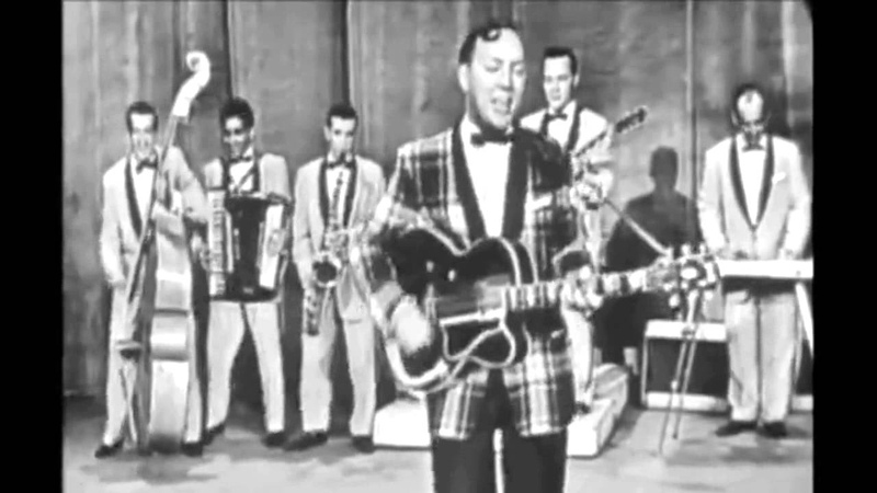Bill Haley His Comets - Rock Around The Clock (1955) HD