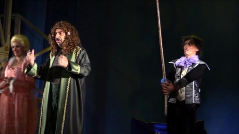 Ария Короля Людовика 15 из мюзикла Андрея Семёнова Фанфан-тюльпан.