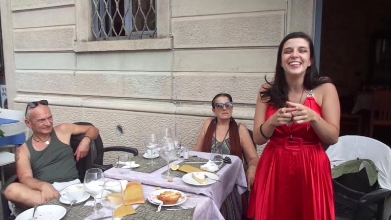 Вера Клинко поёт на моём дне рождения