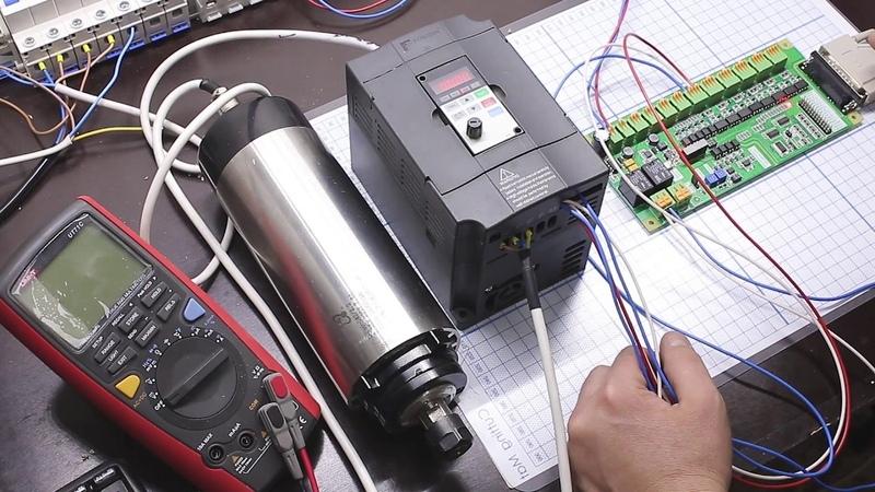 Настройка управлением скоростью вращения шпинделя из Mach3 на примере LPT-DPTR 1.03