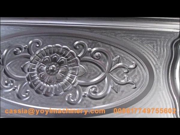 Door embossing mold security door designs