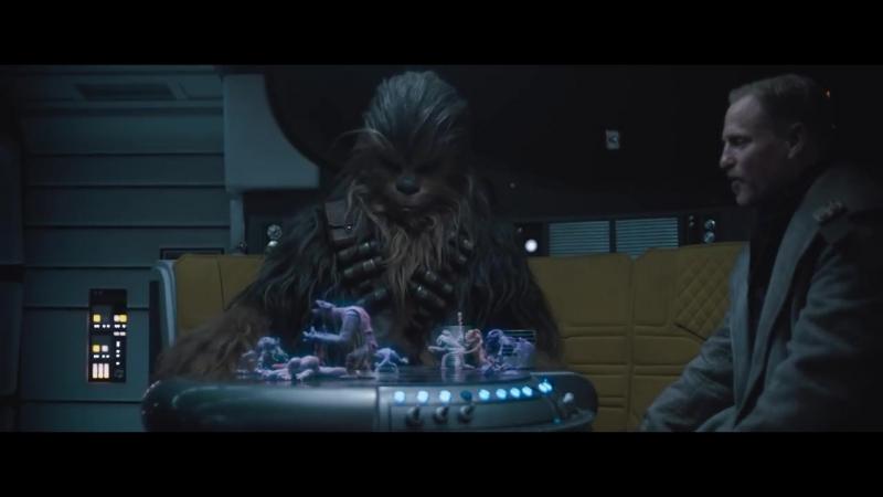 Игра в дежарик, которую мы все так любим, в новом отрывке из фильма Хан Соло: Звёздные Войны. Истории. Смотрим! ЗВ Звездные