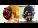 Bridal Low Bun Hair Styles With Flowers
