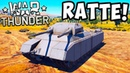 RATTE В WAR THUNDER! 1000 ТОННЫЙ ТАНК LANDKREUZER P.1000! ОБЗОР ТАНКА РАТТЕ (КРЫСА) В ВАР ТАНДЕР!