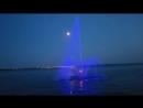 Саратовский фонтан на воде набережная Волги mp4