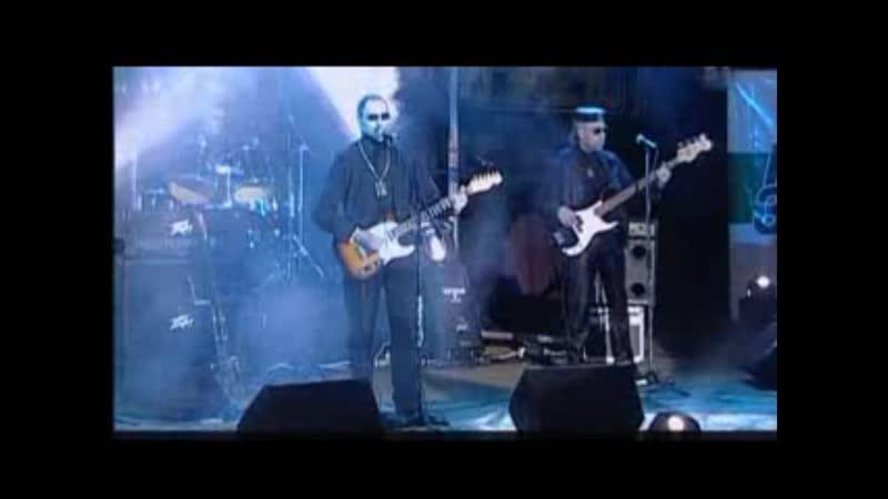 Группа «Пикник» Концерт в Донецке 2002 «Иероглиф»