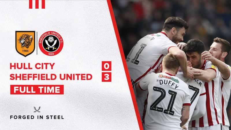 Халл Сити 0 3 Шеффилд Юнайтед