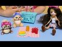 Enchantimals Пикник на природе Кукла-Мишка Bren Bear, Zia and Snore