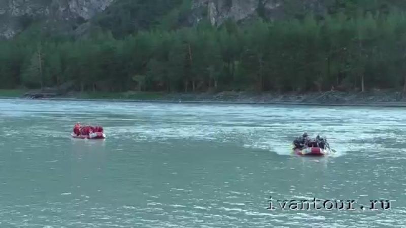 Сплав Горный Алтай река Катунь 1 августа 2015 года-juclip-scscscrp