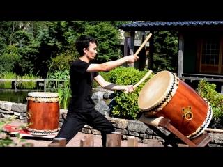 Школа игры на японских барабанах KAZE
