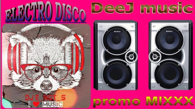 Inside MIXXX to Electro Disco 13 track's total time 57 min style Techno Disco