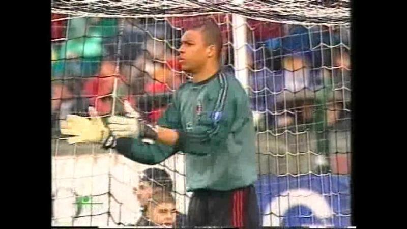 чемпионат италии 2003/2004, 30-й тур, Сиена - Милан, нтв