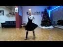 Школа танцев Maria чача,тренировка,Костюк Арина