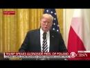 Trump Poland's president meet at White House live updates