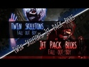 ◤Nightcore◢ ↬ Twin's Skeletons Jet Pack Blues [Switching Vocals | MASHUP]
