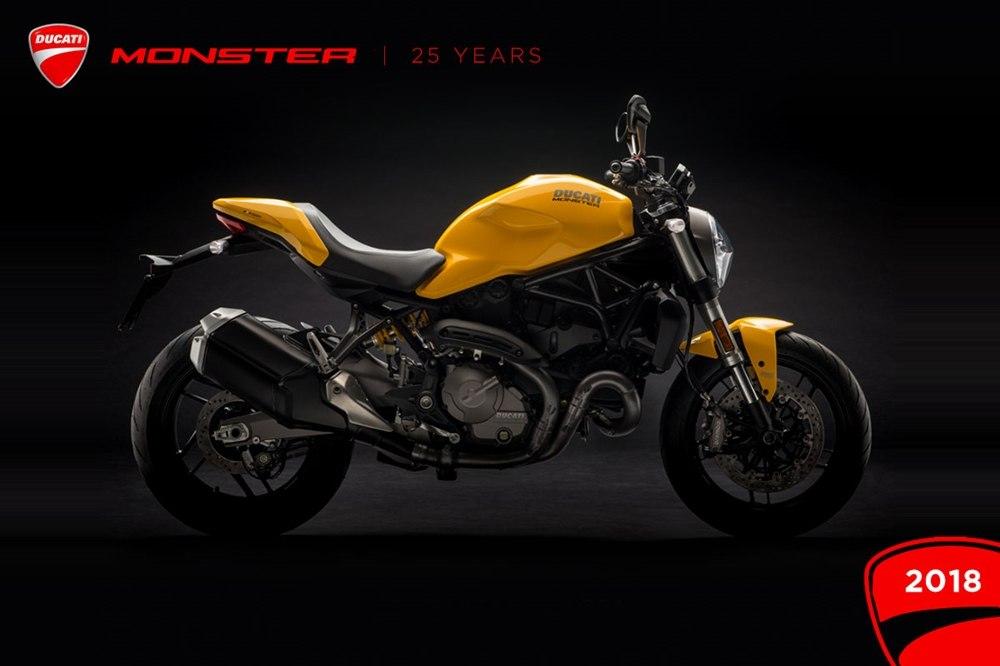 25-й юбилей Ducati Monster