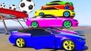 Мультики про Машинки. Развивающие видео для детей и Цветные Машинки