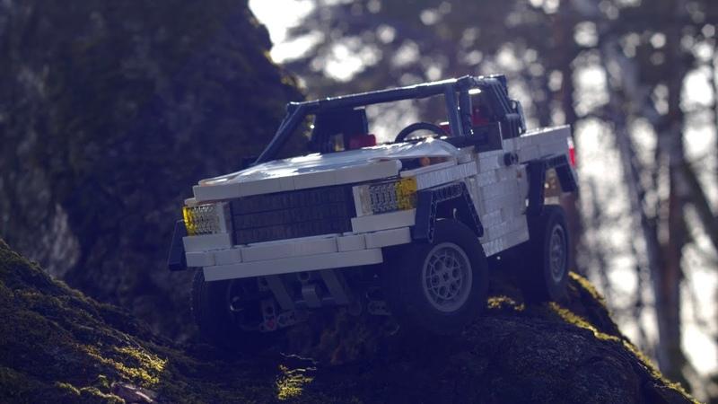 Lego Technic MOC Mark III 4WD