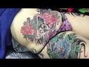 Xam minh nghe thuat tattoo SAIGON XAM CHE XEO, HOA MAU DON TATTOO tai tattoo dat phu nhuan dia