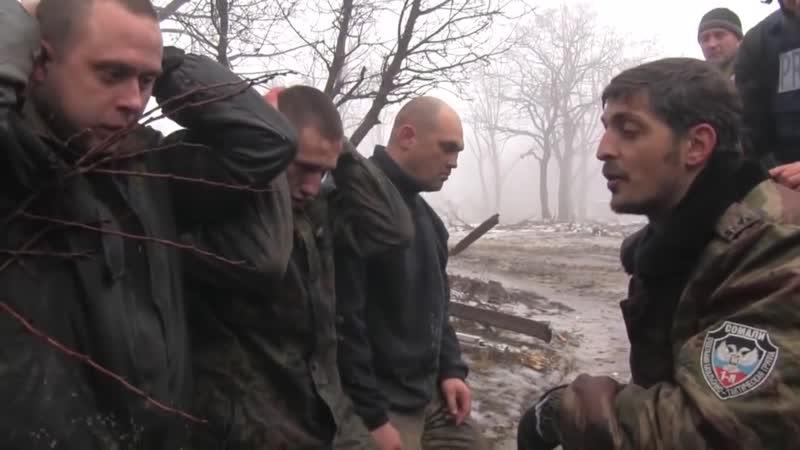 18. Укропы из батальона Житомир, взятые в плен, и убитые в боях за аэропорт. 20 января 2015 года.