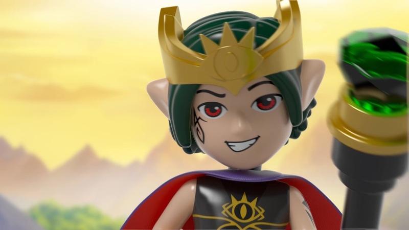 Набор LEGO ELVES 41183 Дракон Короля Гоблинов