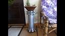DIY Coluna para vaso feito em PVC / Vase column made of PVC