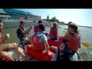 Сплав на катамаране с детьми по Дунаю 02.09.17 Измаил