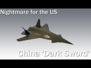 China just showed it has a new 'Dark Sword' fighter jet - and it's a nightmare for the US